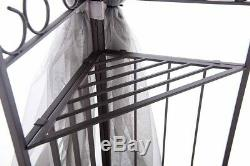 10'x12' Outdoor Garden Canopy Tent Gazebo with Netting Patio Shade Wedding Party