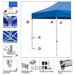 10x10 Custom Graphics LOGO Printed Artwork Ez Pop Up CanopyPatio Gazebo Tent