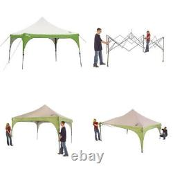 12 x 12 Outdoor Straight Tent Patio Garden Canopy Gazebo Party Steel Frame NEW
