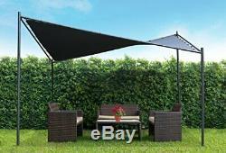 13'1 X 13'1 Butterfly Gazebo Backyard or Patio Canopy Heavy duty Steel Frame