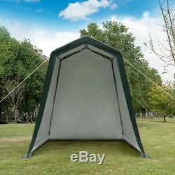 6'x8' Patio Tent Carport Storage Shelter Shed Car Canopy Heavy Duty with4 Ropes