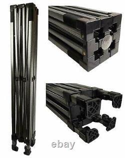BULHAWK 3x4.5m COMMERCIAL GRADE HEAVY DUTY POP UP GAZEBO MARKET STALL MARQUEE