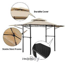 Barbecue Canopy Outdoor BBQ Tent Gazebo Grill Shelter Yard Patio Shade Awning