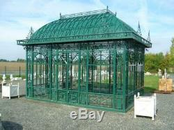 Beautiful Victorian Tubular Galvanized Steel Estate Gazebo Gazebo#16s