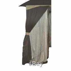Cabin Gazebo 10' X 12' Canopy Patio Shade Cover Outdoor & Yard Screen House Tent
