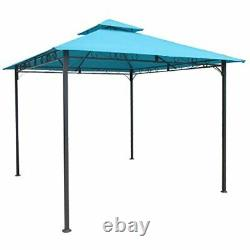 Canopy Tent Gazebo Tier Steel Frame Shelter Camping Outdoor Wedding Party Shade