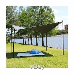 Coolaroo Butterfly Gazebo, Backyard or Patio Gazebo, 99% UV Block, Steel Fram