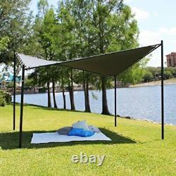 Coolaroo Butterfly Gazebo, Backyard or Patio Gazebo, 99% UV Block, Steel Frame
