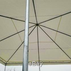Event Party Frame Tent Canopy 20x20' Weekender PE Gazebo Economy Water Resistant