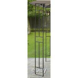 Gazebo Outdoor Garden 10' x 10' Outdoor Patio Steel Frame Polyester Canopy New