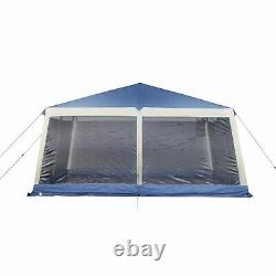 Grand Gazebo Great for Camping & Backyard Use, Polyester and Steel Frame Poles