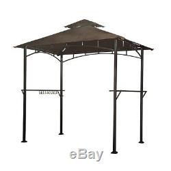 Grill BBQ Gazebo Canopy Outdoor Sun Shade Patio Backyard Portable Gazebos Sunjoy
