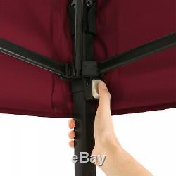 Instant Gazebo 10x10 ft Canopy Tent Steel Frame Tailgate Patio Backyard Shelter