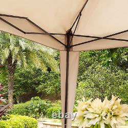 Outdoor Collapsible Gazebo Powder Coated Steel Frame with UV Resistant Fabric
