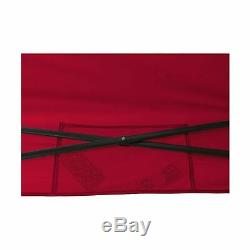 Ozark Trail 10' x 10' Straight Leg Instant Tailgate Canopy Red 10 x 10 canopy