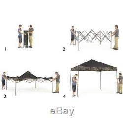Ozark Trail Instant Canopy Shade Tent Cooling Gazebo Realtree Xtra 10 X Ft New