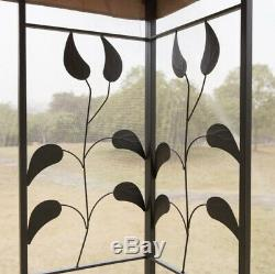 Patio Gazebo Canopy Tent Garden Steel Frame Rectangle Patio Party Awning 10'x10