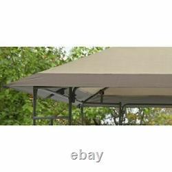 Patio Gazebo Yard and Garden Furniture Canopy Shelter Sun Shade Steel Frame