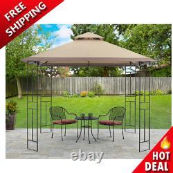 Patio Gazebo Yard and Garden Furniture Canopy Shelter Sun Shade Steel Frame NEW