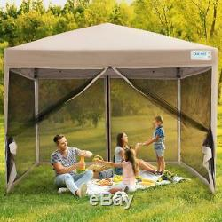 Quictent 8x8 Wedding Party Canopy Tent Outdoor Folding EZ Pop UP Patio Gazebo US