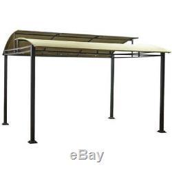 Steel Frame Pergola Canopy Gazebo 12 X 10 Outdoor Backyard Lawn Deck Sawyer