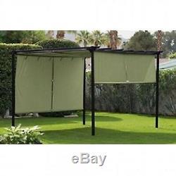 Steel Pergola Canopy Gazebo Home Outdoor Backyard Deck Pool Patio Shade Arbor