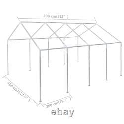 VidaXL Frame for 315x157.5 Marquee Steel Garden Gazebo Canopy Party Tent