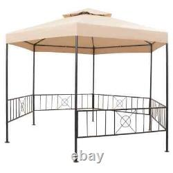 VidaXL Garden Marquee 127.2x104.3 Outdoor Patio Pavilion Tent Gazebo Canopy