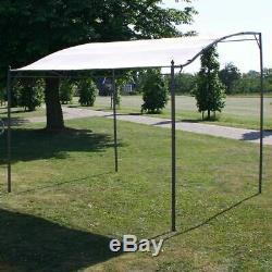VidaXL Gazebo Cream White Outdoor Garden Marquee Party Wedding Tent Canopy