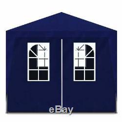 VidaXL Party Tent 10'x13' Blue Outdoor Garden Wedding Patio Gazebo Canopy