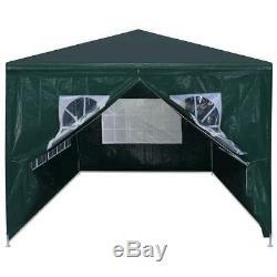 VidaXL Party Tent 19'8 Green Outdoor Canopies Pavilion Gazebo Garden Marquee