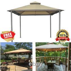 10' X 10' Outdoor Savvi Gazebo Canopy Steel Frame Garden Patio Yard Sun Shelter