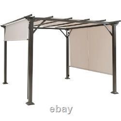 10' X 10' Pergola Kit Cadre En Métal Gazebo & Canopy Cover Patio Abri Meubles