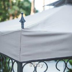 10 X 12 Pi. Gazebo Patio Couverture Terrasse De Luxe Roof Garden Ventilé Airflow Gazebo