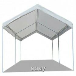 10 X 20 Steel Frame Abri Portatif De Canopée De Voiture