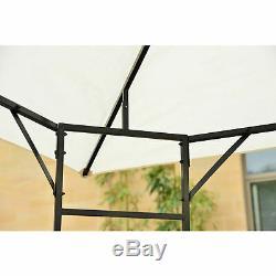 10'x 10' Outsunny Extérieur Gazebo Patio Cover Party Canopy Tente Pavillon Ombre