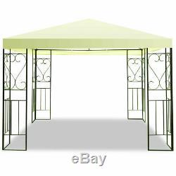 10'x10' Patio Gazebo Auvent Tente Abri Cadre En Acier Patio Party Store