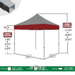 10x10 Commercial Graphiques Personnalisés Impression Du Logo Création Ez Pop Up Canopy Tente