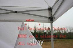 10x10 Extérieur Ez Pop Up Tente Instantanée Canopy Party Tente Gazebo Abri Pare-soleil