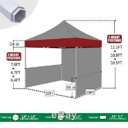 10x10 Personnalisé Logo Graphiques Imprimés Craft Show Booth Canopy Tente Avec Housse De Table