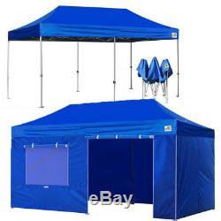 10x20 Etanche Ez Pop Up Canopy De Soirée De Mariage Tente Patio Ombre Abri Gazebo