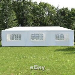 10x30 Extérieur Gazebo De Soirée De Mariage Kiosques Parois Latérales Tente Auvent Cadre En Acier