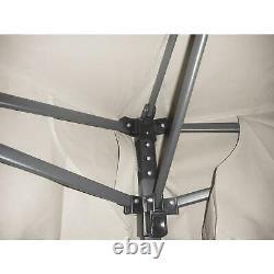 12' X 12' Gilded Grove Gazebo Canopy Top Outdoor Garden Shade Steel Frame