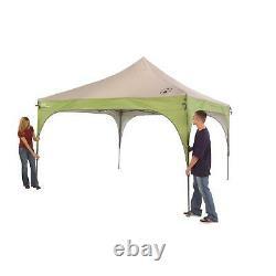 12 X 12 Outdoor Straight Tent Patio Garden Canopy Gazebo Party Steel Frame Nouveau