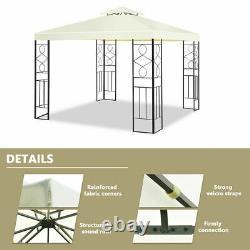 2 Tier 10'x10' Patio Gazebo Canopy Tente De Structure En Acier Auvent