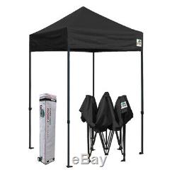 5x5 Noir Extérieur Gazebo Commercial Instantané Pliant Patio Canopy Sport Tente