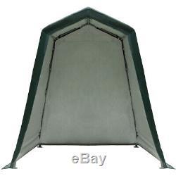 6'x8' Patio Tente Abri Abri De Stockage Abri Voiture Canopy Heavy Duty Cordes Avec Ses 4