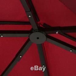 8 X 5 Grill Bbq Extérieur Gazebo Grill Tente Barbecue Canopy Avec 2-tier Soft Top