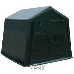8'x14' Patio Tente Abri Abri De Rangement Pratique Shed Voiture Canopy Vert