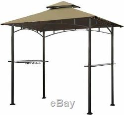 8x5 Grill Gazebo Abri Pour Patio Extérieur Jardin Camping Living Tente Bbq